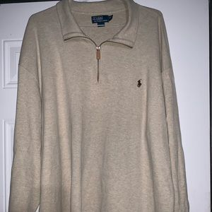 Authentic Polo by Ralph Lauren 1/4 zip sweater
